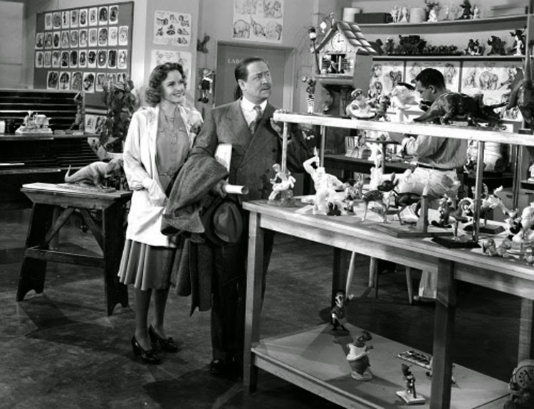 Robert Benchley tours the Disney Studios in Burbank in The Reluctant Dragon.