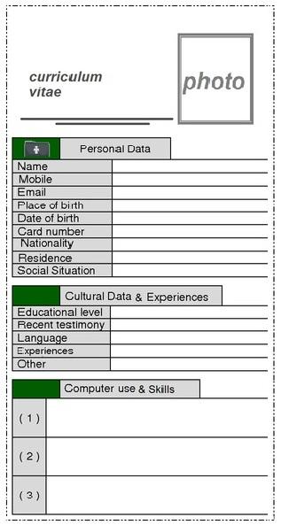 نموذج سيرة ذاتية باللغة الانجليزية جاهز و مكتوب-كتابة سيرة ذاتية بالانجليزى CV