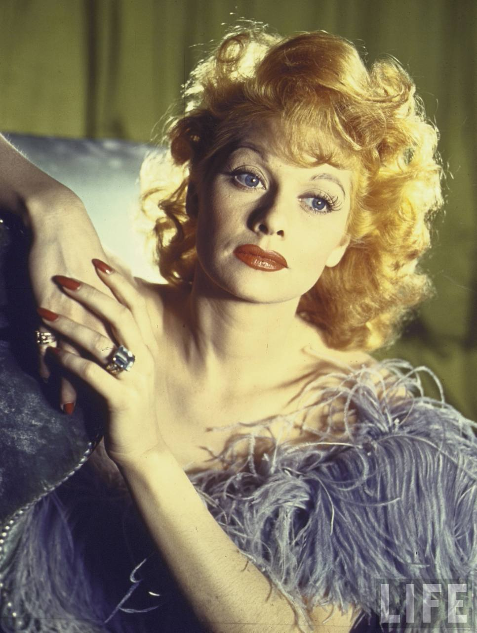 Bette Davis Natural Hair Color