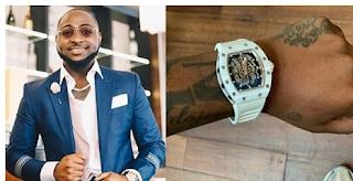 Davido gets new watch worth millions