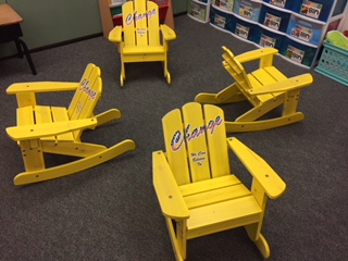 flexible seating wooden rocking chairs