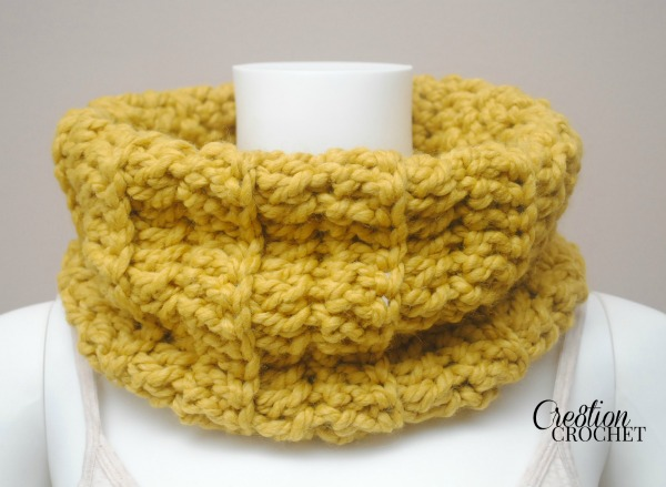 Fiber Flux Chunky Cowls 25 Free Crochet Patterns