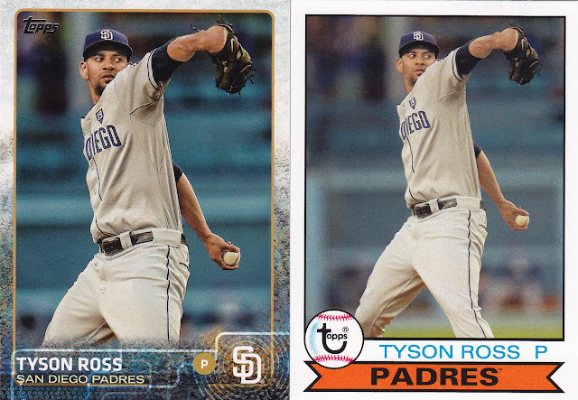 47d32c539 What tipped me off most was the Tony Gwynn  19 patch on Tyson s Archives  card on the right. The Padres wore this after Tony s death in 2014
