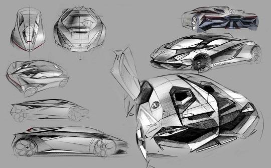 Car & Bike Fanatics: Lamborghini Perdigon Concept by