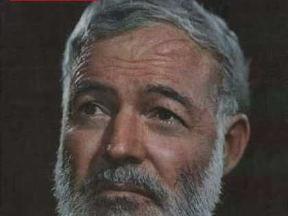Advice from April Literary Idol: Ernest Hemingway