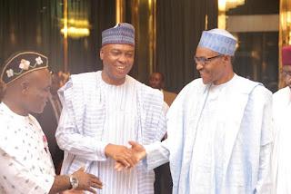 False Asset Declaration Saraki connects with Buhari, Tinubu once more