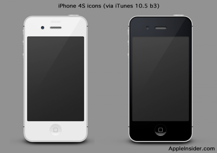 The Icons Say It All: Only iPhone 4S Coming This Year…Updating: Apple has confirmed its iPhone 4S