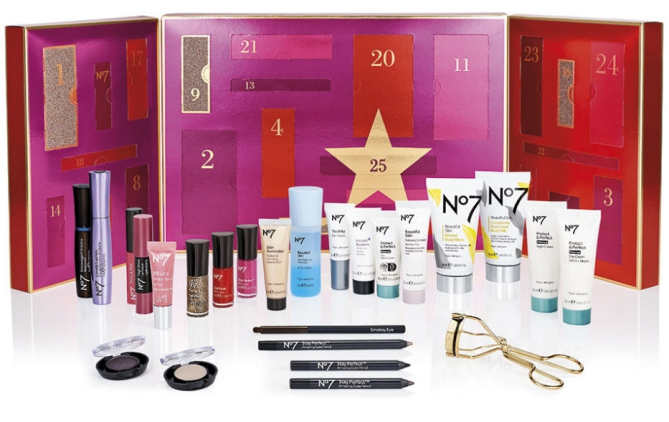 No7 Boots Advent Calendar 2015