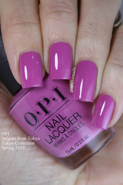 Arigato from Tokyo, OPI Tokyo Collection Spring 2019