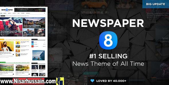Newspaper V8.6 Theme Free Download