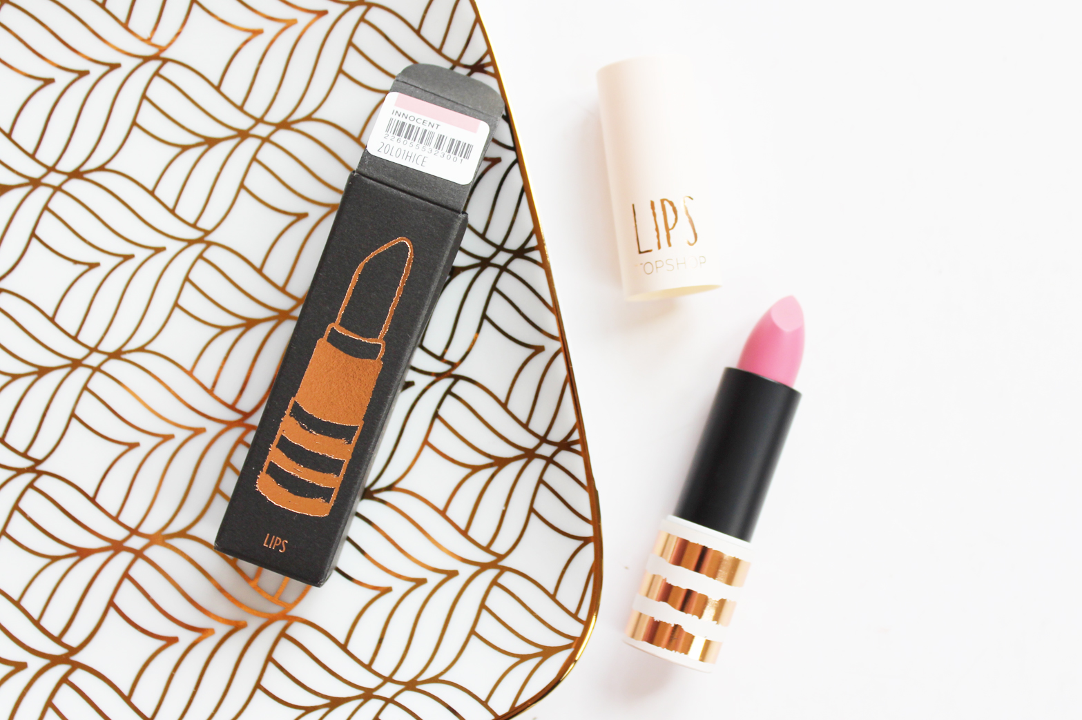 TOPSHOP | 5 Years of Beauty Haul - Glow Pot in Polished, Lipstick in Innocent + Nail Polish in Adrenalin - CassandraMyee
