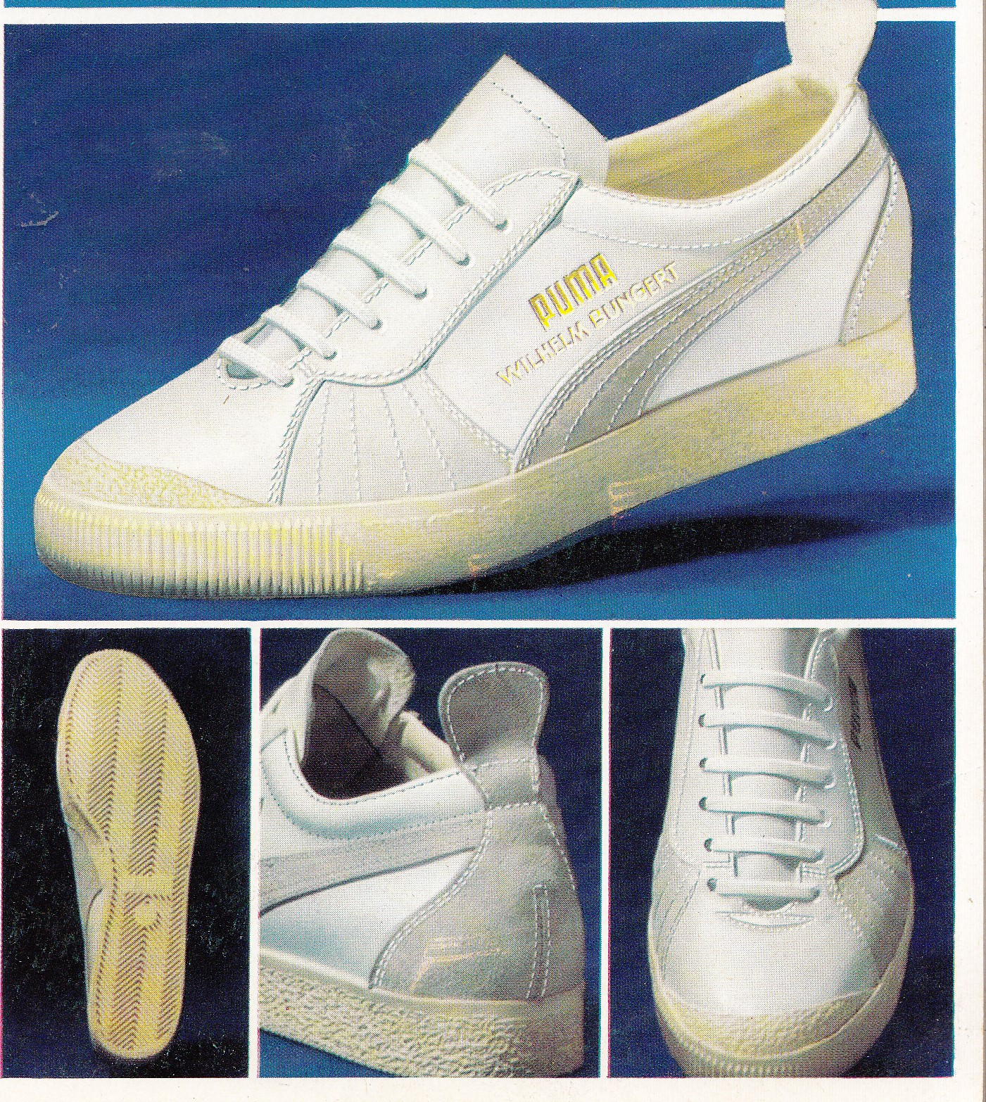 46ca0bde93dc The Earliest Puma  Wimbledon  made in Western Germany.