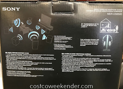 Costco 1176500 - Sony MDR-DS6500 Digital Surround Headphone System - For those who appreciate audio the way it was meant to be heard