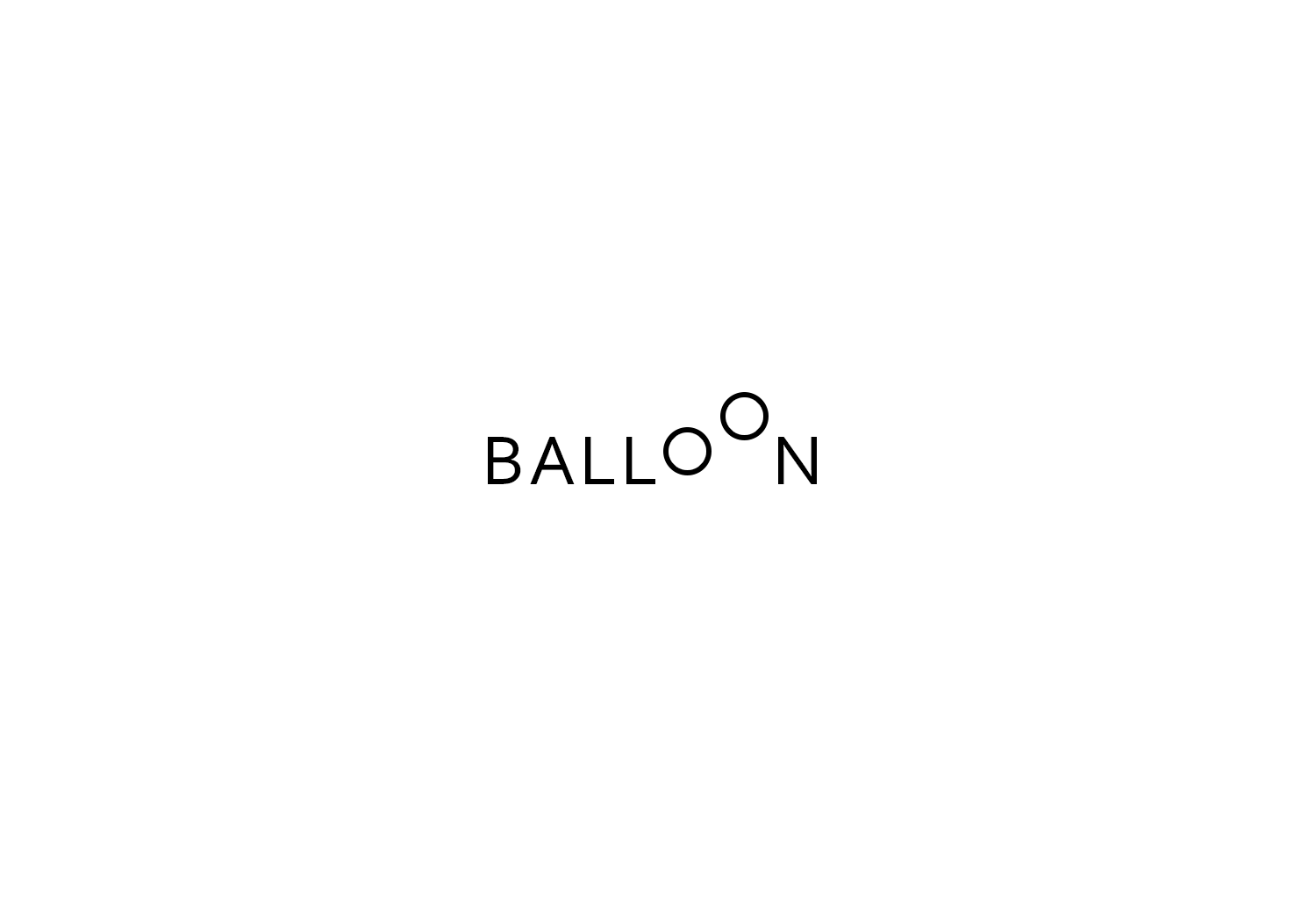 Balloon Text Logo Design Inspiration