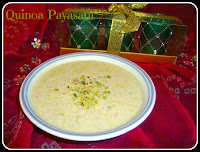 Quinoa Payasam recipe,Quinoa Kheer recipe,Quinoa Porridge recipe,Quinoa Pudding Recipe