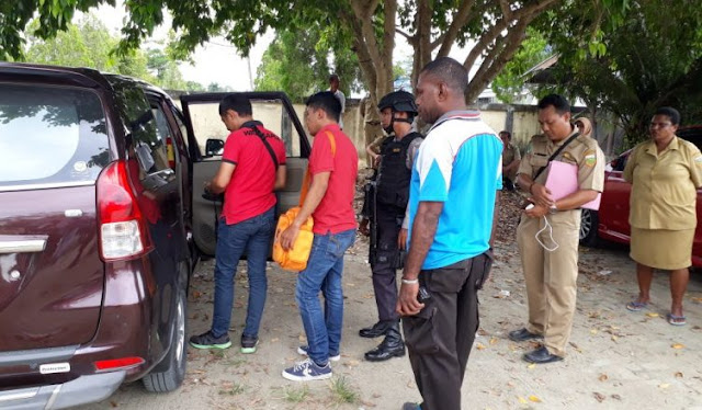 Polisi Dalami Aksi Pencurian dan Pengrusakan Mobil Warga Keerom