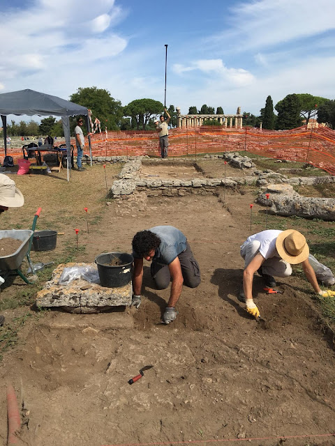 New finds at ancient city of Paestum in southern Italy