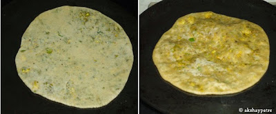 shaloow fried paratha