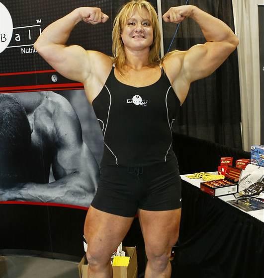 Becca Swanson American bodybuilder, powerlifter, pro wrestler and strongwoman