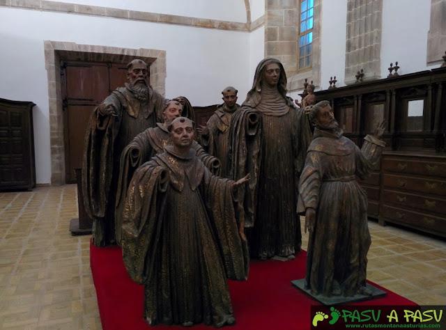 Sacristía en Monasterio Corias