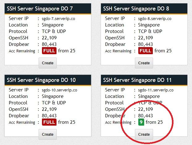 Melalui Situs fastssh.com Untuk Membuat Akun SSH Gratis 3