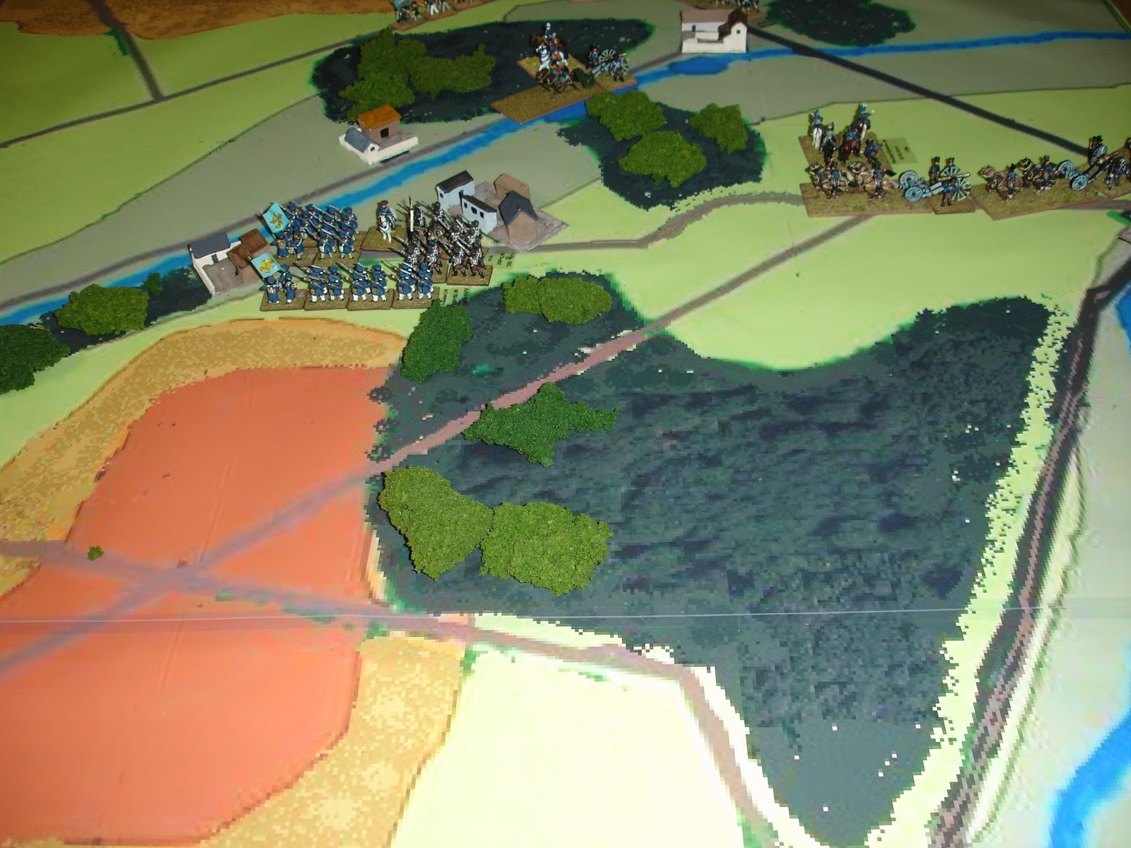 One sided miniature wargaming discourse september 2015 for Domon waterloo