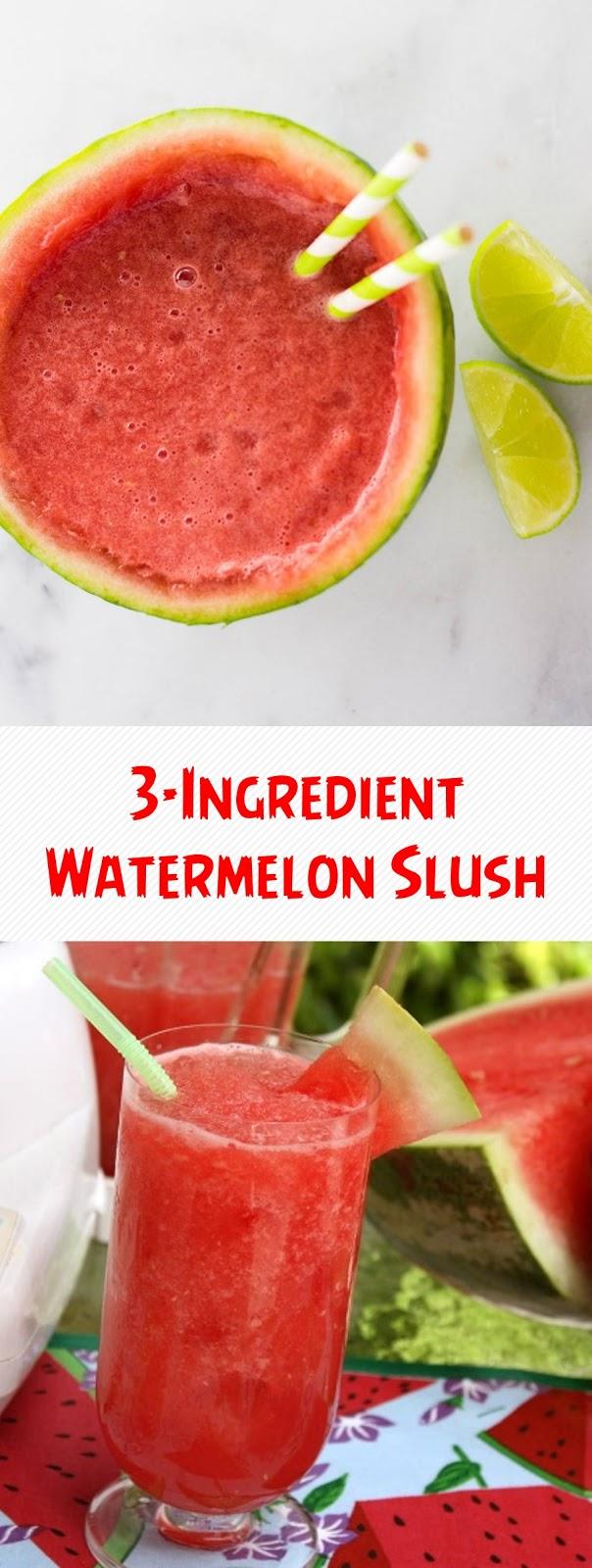 3-Ingredient Watermelon Slush