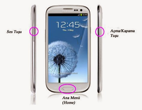 Samsung Galaxy S4 Format Atmak