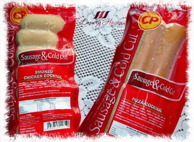 luxury haven reviews cp chicken pizza cocktail sausages