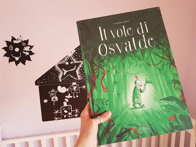 Il volo di Osvaldo di Thomas Baas Edizioni Clichy