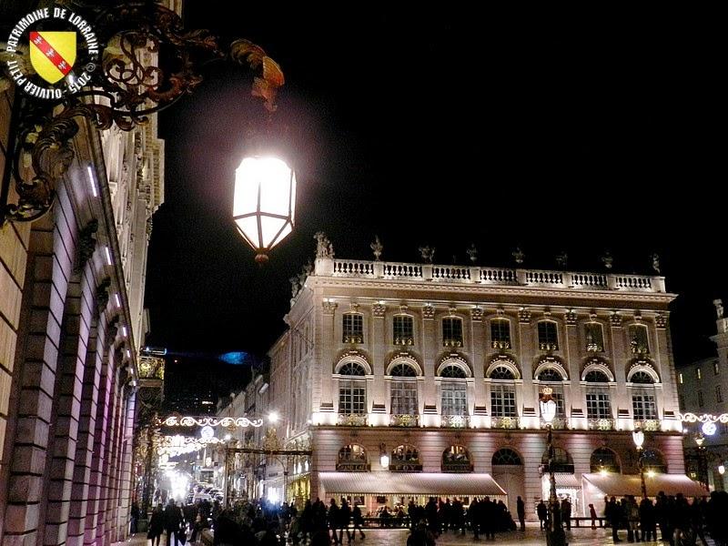 NANCY (54) - La Place Stanislas by night 2015