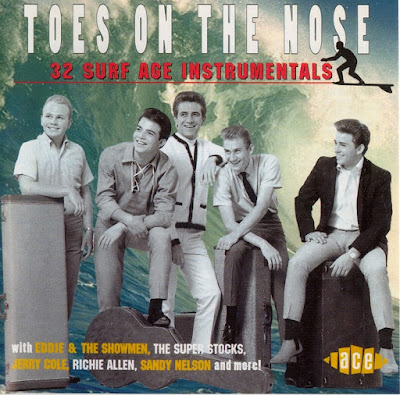 VA-Toes On The Nose ~ 32 Surf Age Instrumentals
