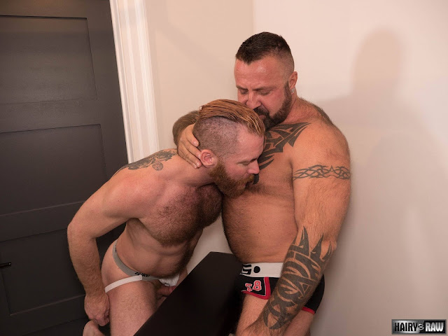 #HairyandRaw - Marc Angelo and Zack Acland
