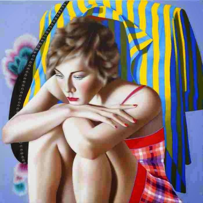 Современная американская художница. Jocelyn Hobbie