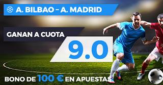 Paston Megacuota Liga: Athletic vs Atlético Madrid 20 septiembre