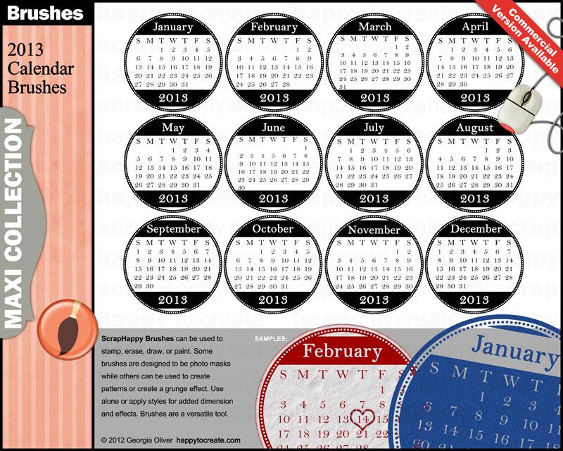 Craft Smith Calendar Kit