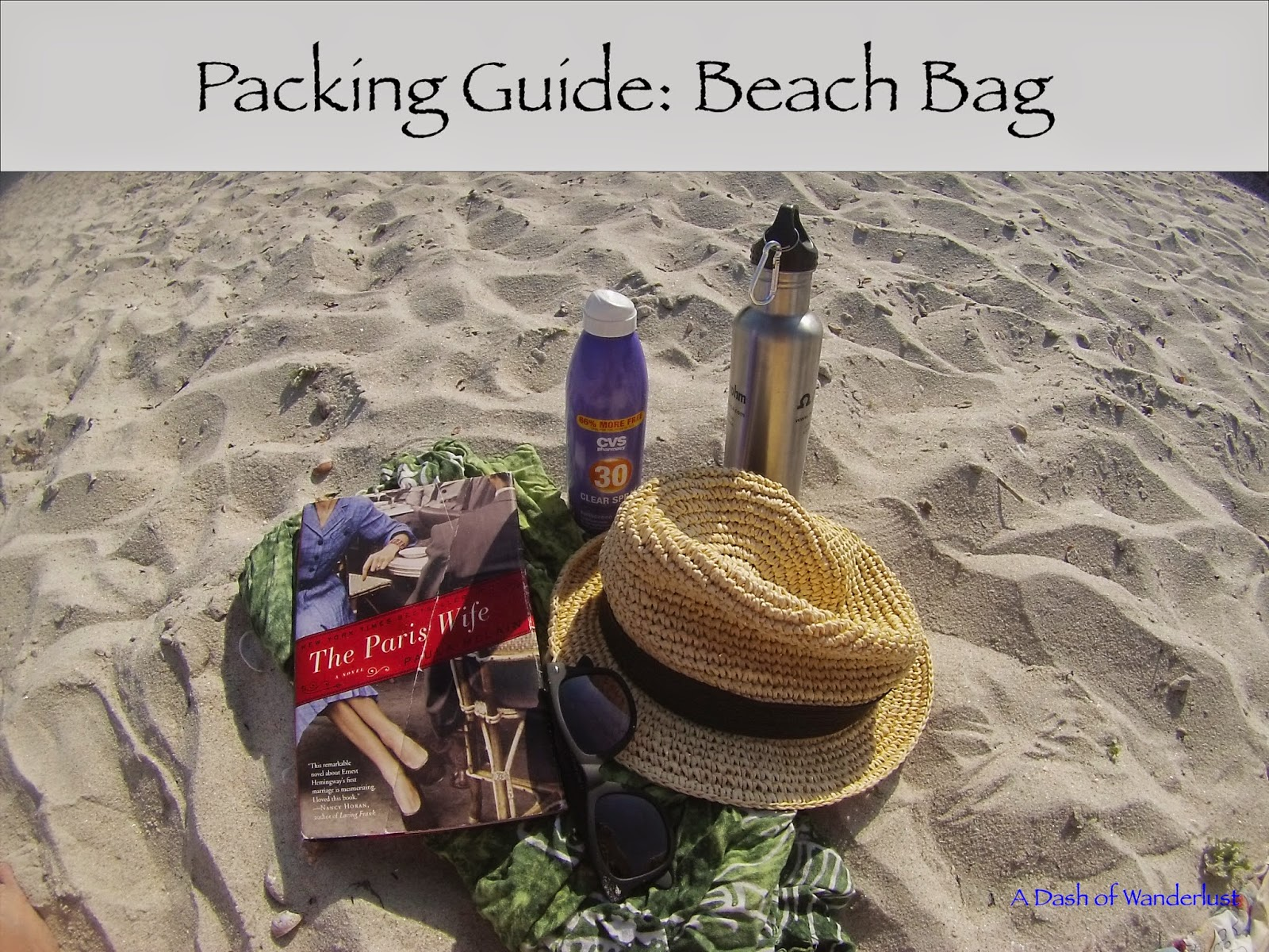 packing guide for your summer beach bag