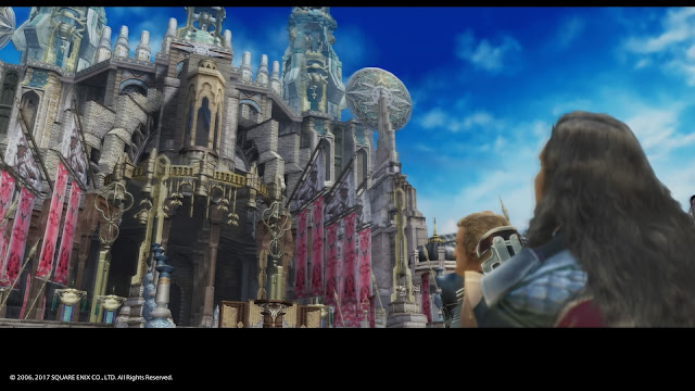 Final Fantasy game hands-on