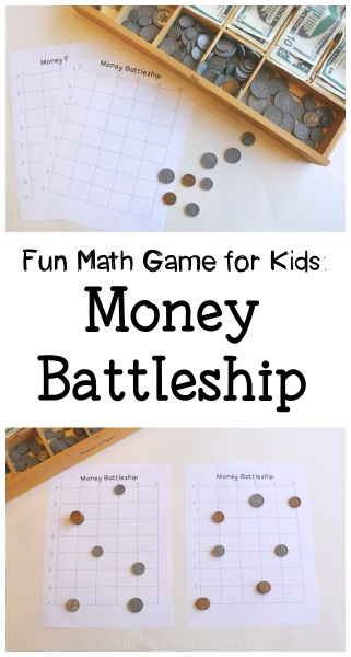 fun money math battleship game