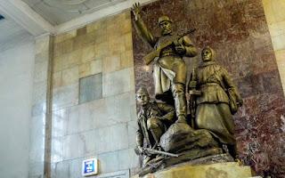 Estatuas de Ploschad Revolutsii