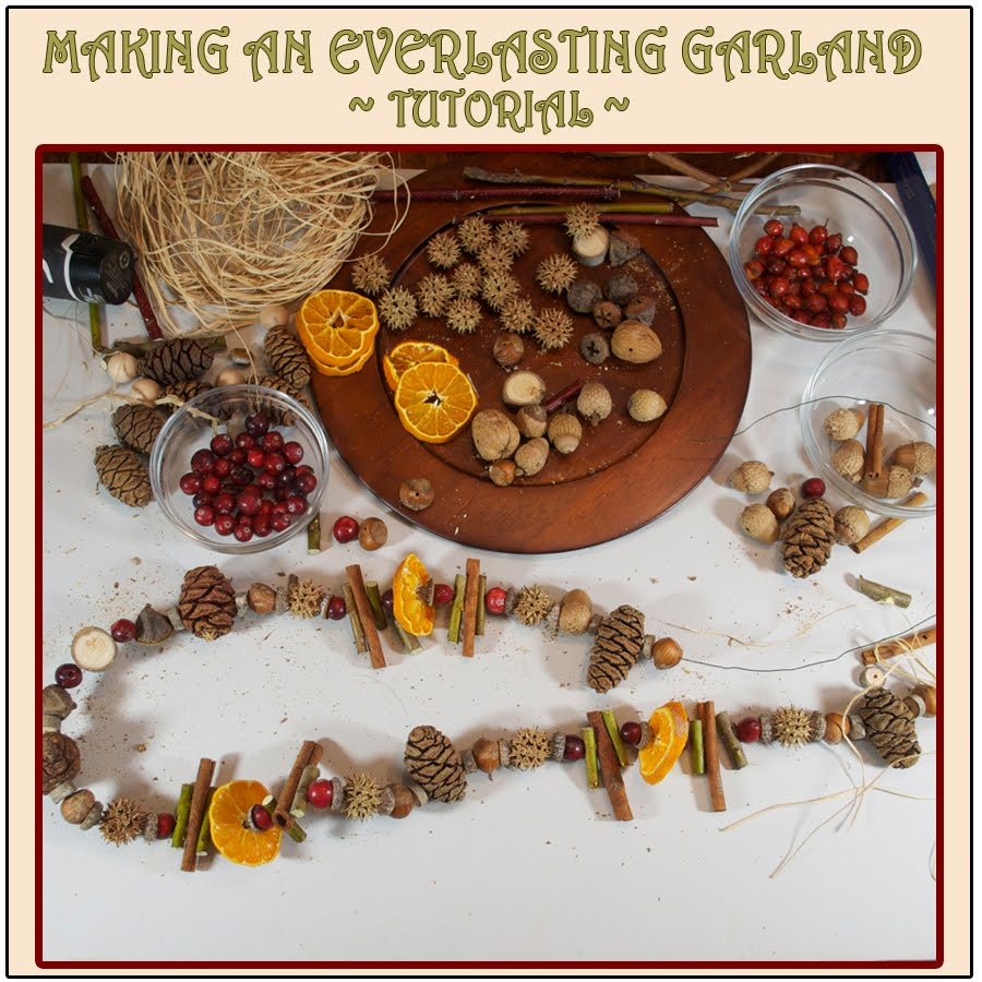EVERLASTING GARLAND TUTORIAL