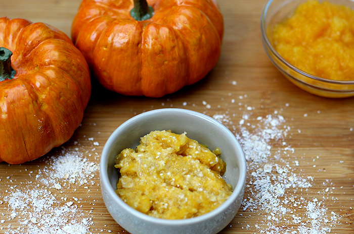 pumpkin oatmeal face mask