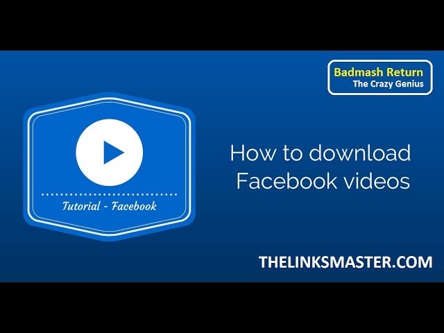 facebook video, facebook video download, facebook videos, fb video, fb video download, Mobile, on, pc, Quick, Save, Simple, Software, to, video, Videos, Way, without, Without Software On PC & Mobile