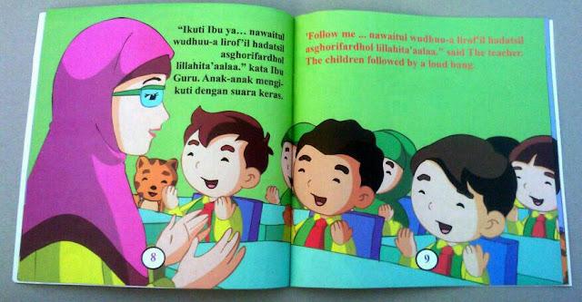 Buku Bergambar Media Untuk Anak Belajar Membaca