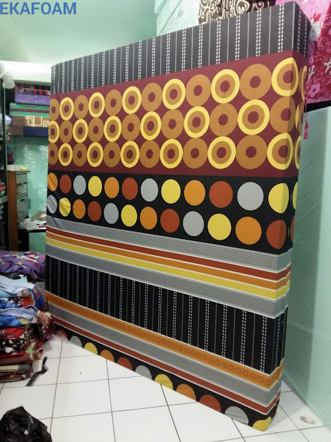 Kasur inoac 2016 motif flopy orange