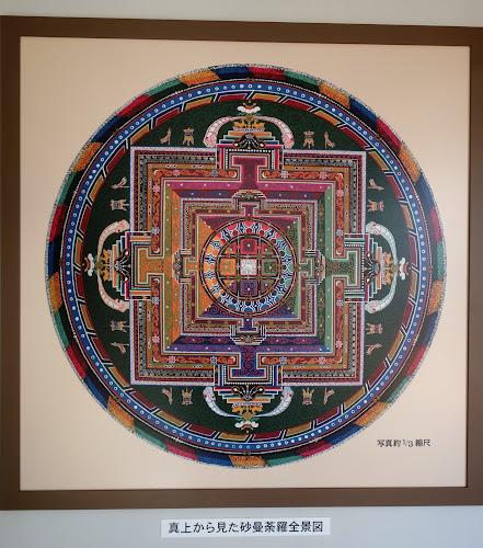 砂曼荼羅の写真