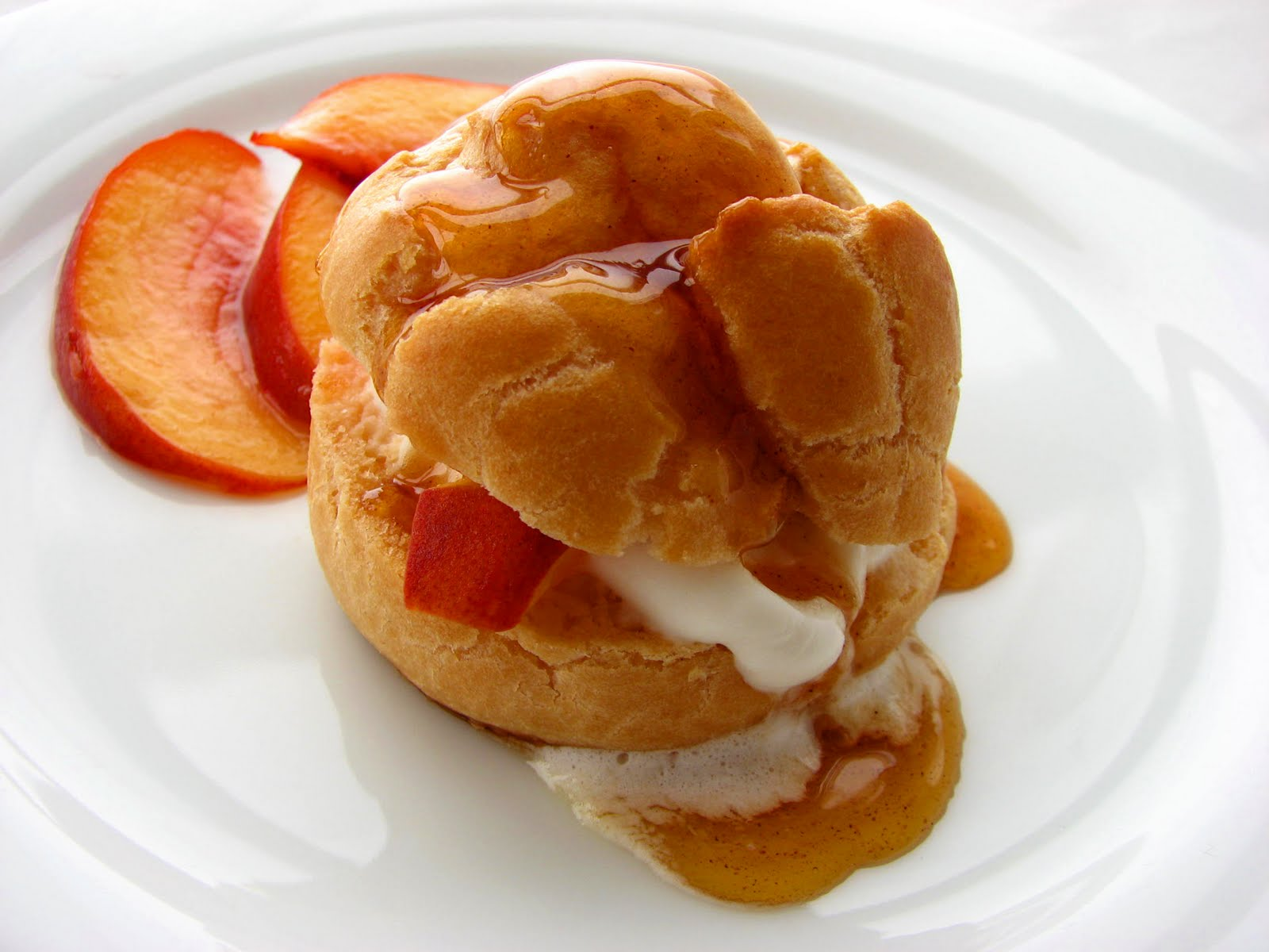 Pastry Studio Peaches N Cream Puffs