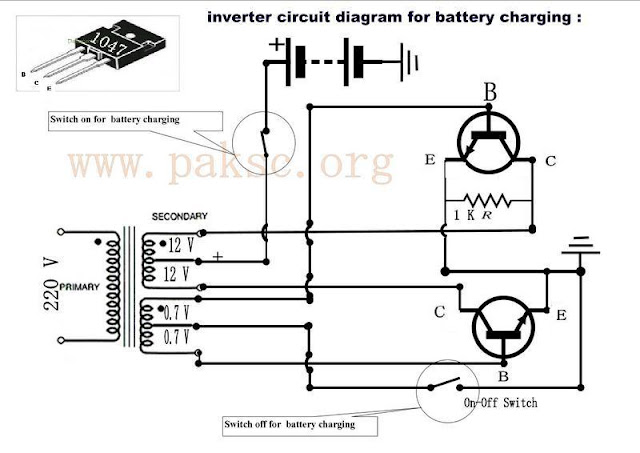 Make your own 50 to 500 watt Power inverter UPS in Urdu
