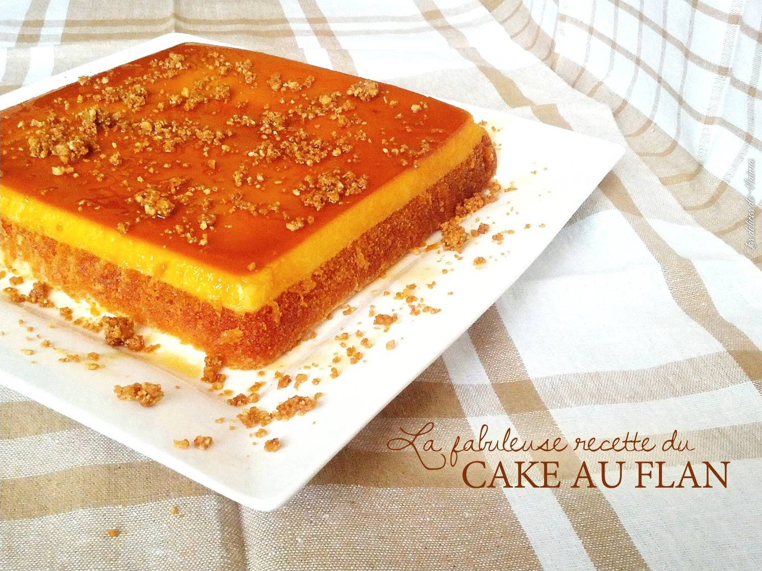 how to make flan cake video