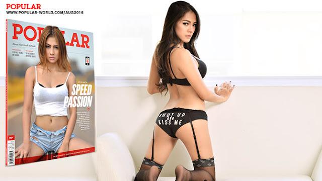 POPULAR Angels Gallery Bella Chan Sexy | Download Foto Sexy Bella Chan POPULAR Ed. 343 September 2016 | www.zone.downloadmajalah.com